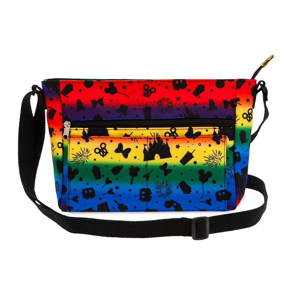 Disney Parks Rainbow Crossbody Bag