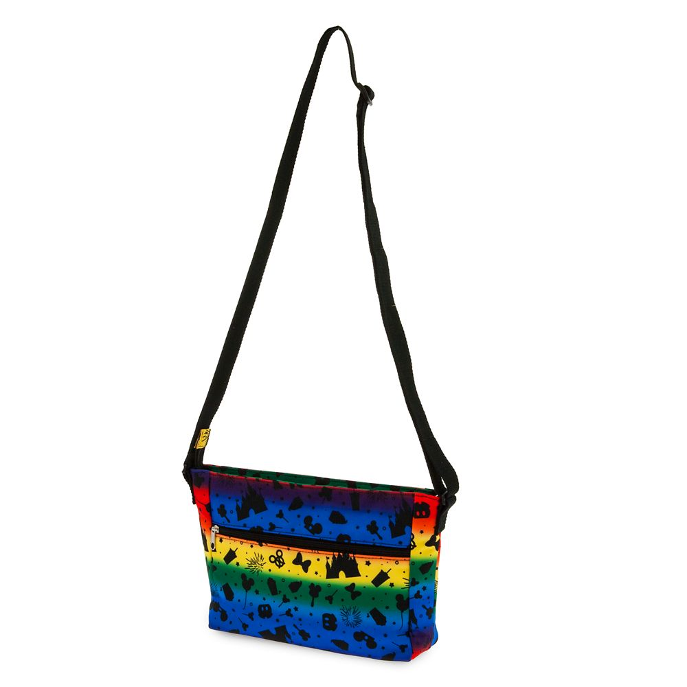 Disney Parks Rainbow Crossbody Bag