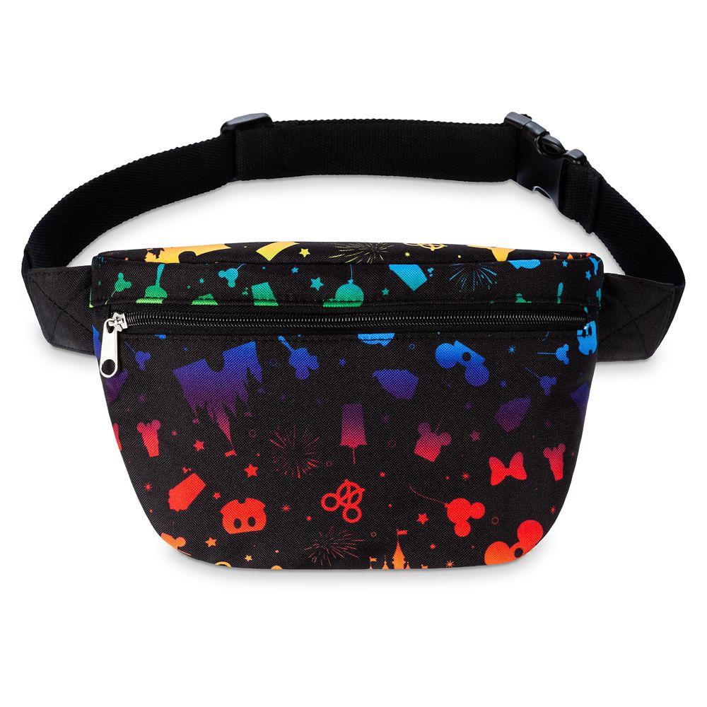 Disney Parks Rainbow Belt Bag