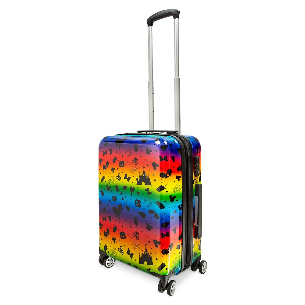 Disney Parks Rainbow Luggage – 21''