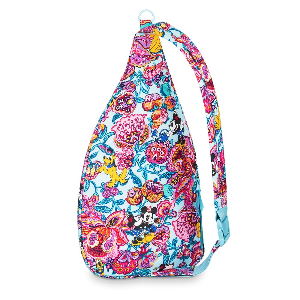 Mickey Mouse and Friends Colorful Garden Sling Backpack by Vera Bradley