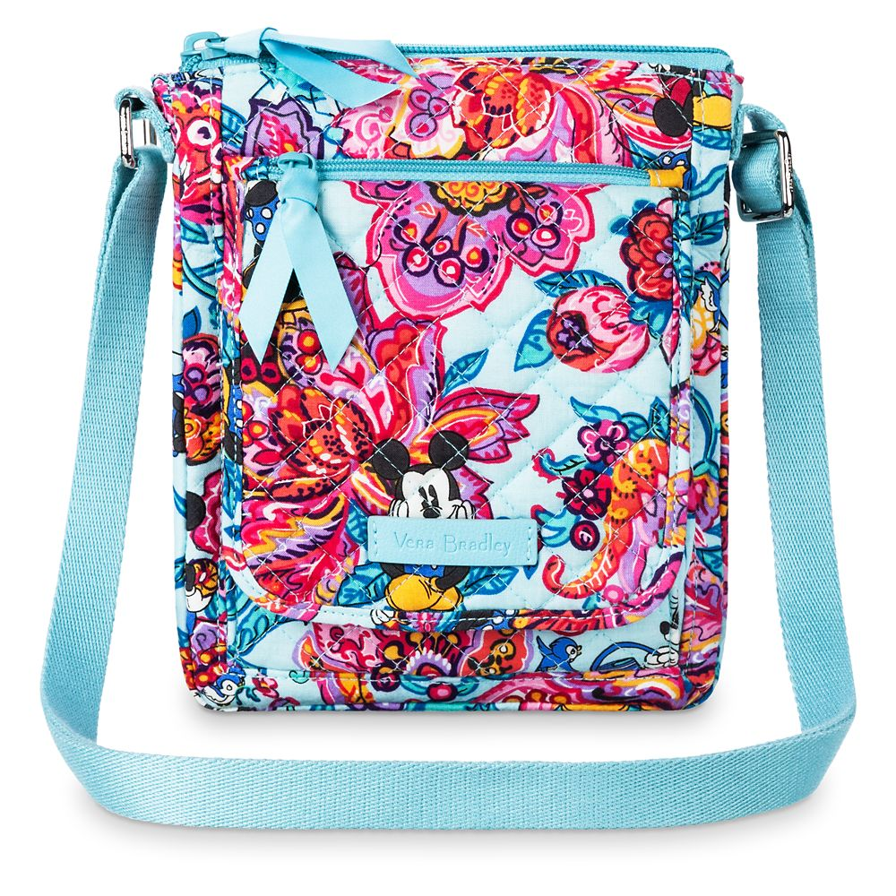 Mickey Mouse and Friends Colorful Garden Mini Hipster Bag by Vera Bradley