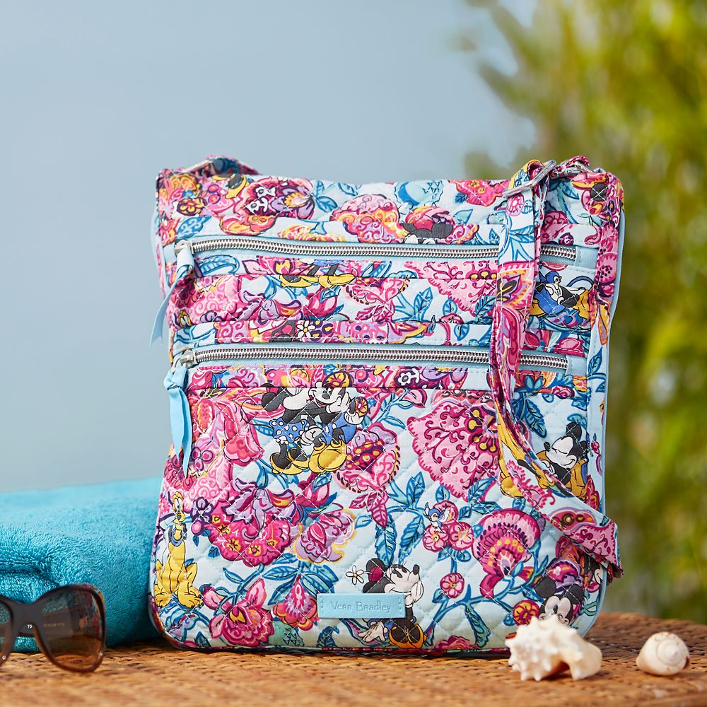Mickey Mouse and Friends Colorful Garden Hipster Bag by Vera Bradley