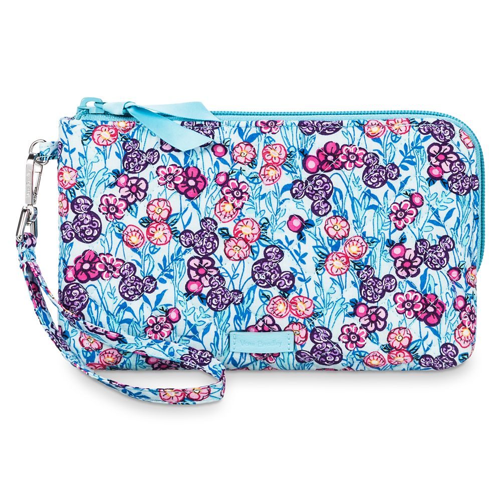 Mickey Mouse Colorful Garden Wristlet by Vera Bradley