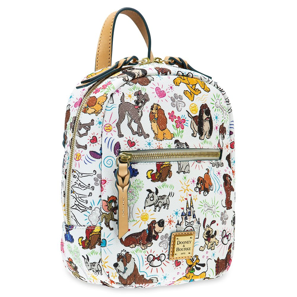 Disney Dogs Sketch Mini Backpack by Dooney & Bourke