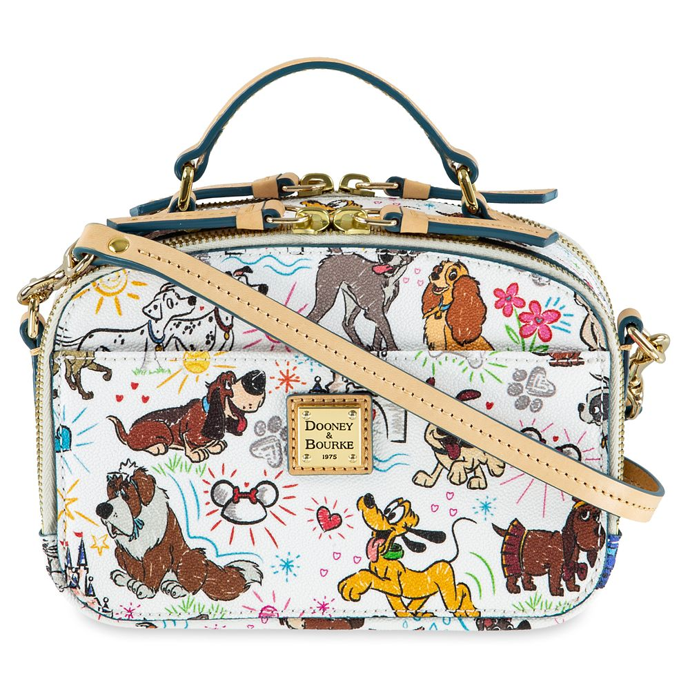 Disney Dogs Sketch Ambler Crossbody Bag by Dooney & Bourke