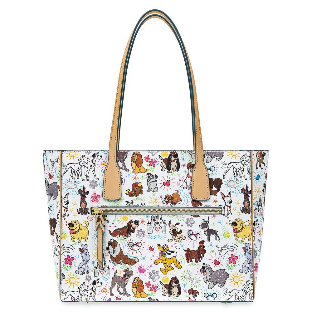 Disney Paw Prints Tote Bag by Dooney & Bourke