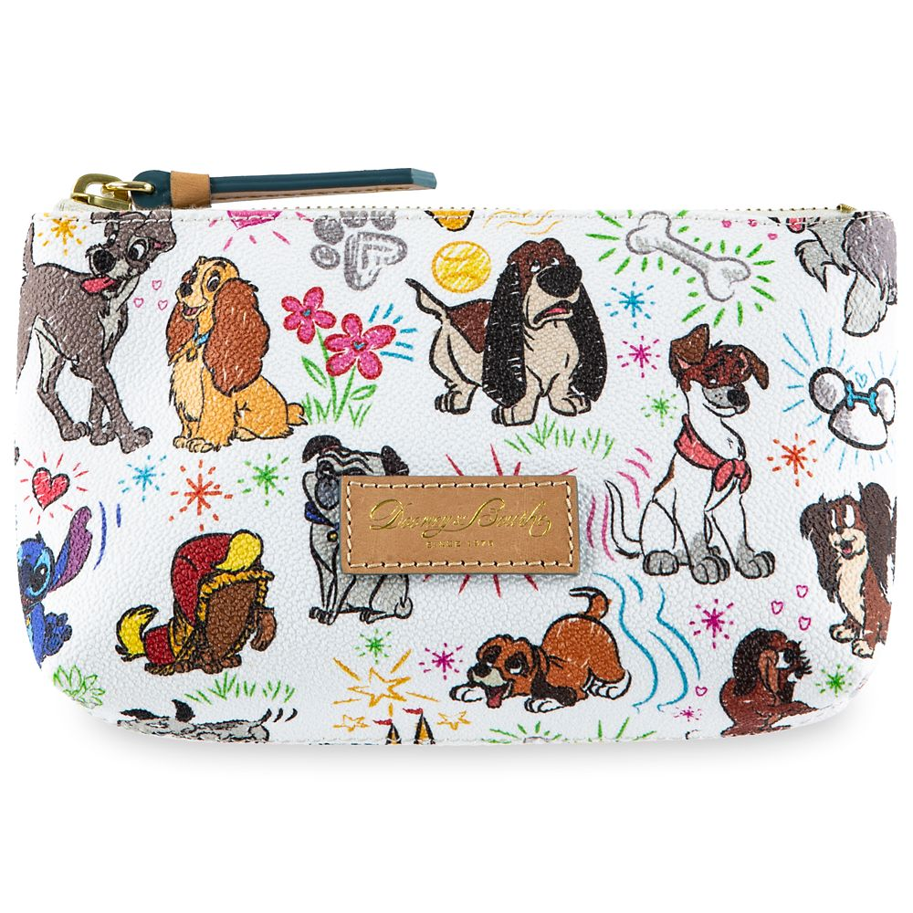 Disney Dogs Sketch Cosmetic Case by Dooney & Bourke