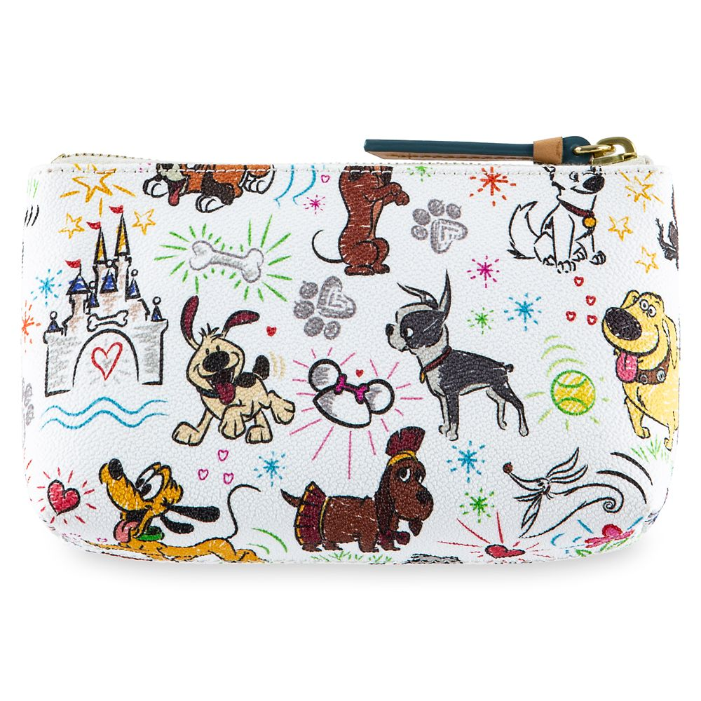Disney Paw Prints Cosmetic Case by Dooney & Bourke