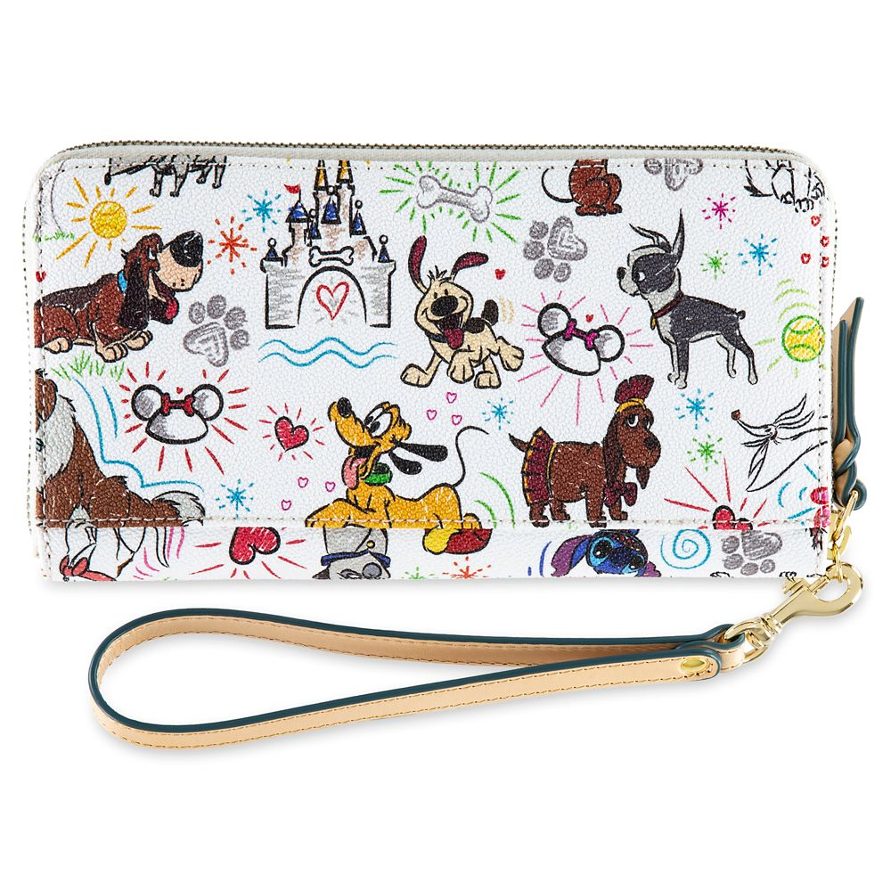 Disney Paw Prints Wallet by Dooney & Bourke