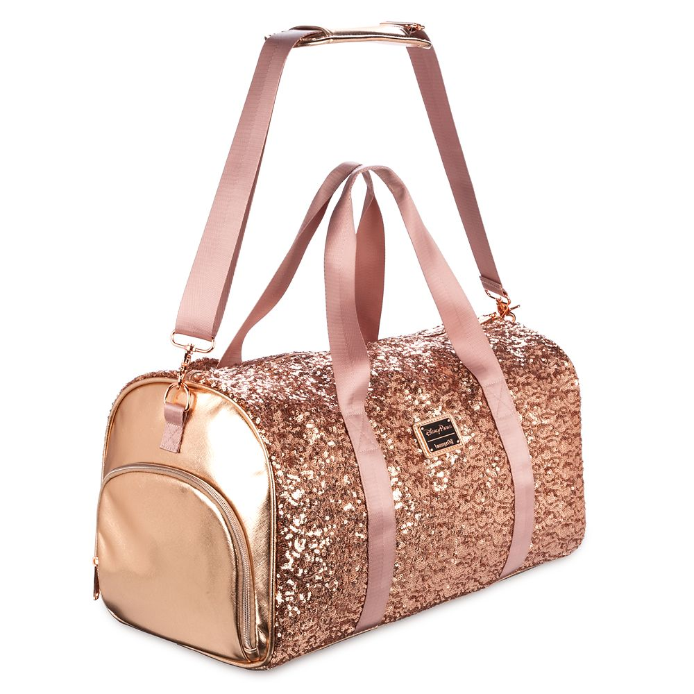 Minnie Mouse Sequin Duffel Bag by Loungefly – Briar Rose Gold