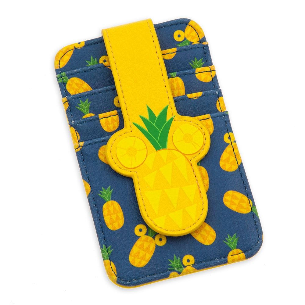 Mickey Mouse Pineapple Card Case