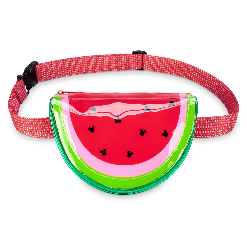 디즈니 '미키 마우스' 수박 벨트백 Disney Mickey Mouse Icon Watermelon Belt Bag