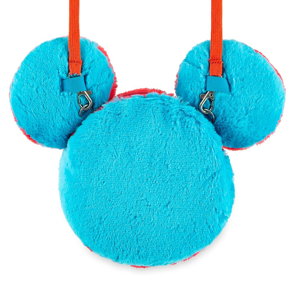 Mickey Mouse Icon Plush Crossbody Bag