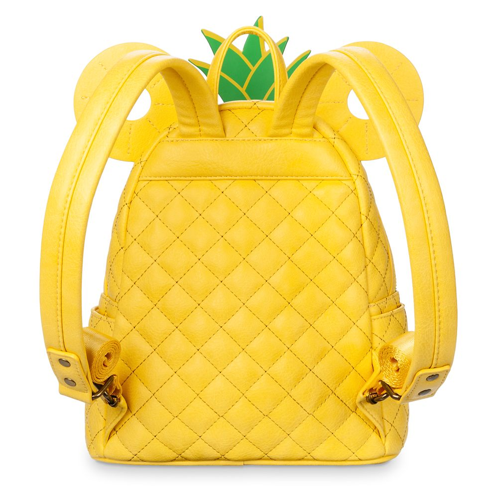 Mickey Mouse Pineapple Mini Backpack by Loungefly