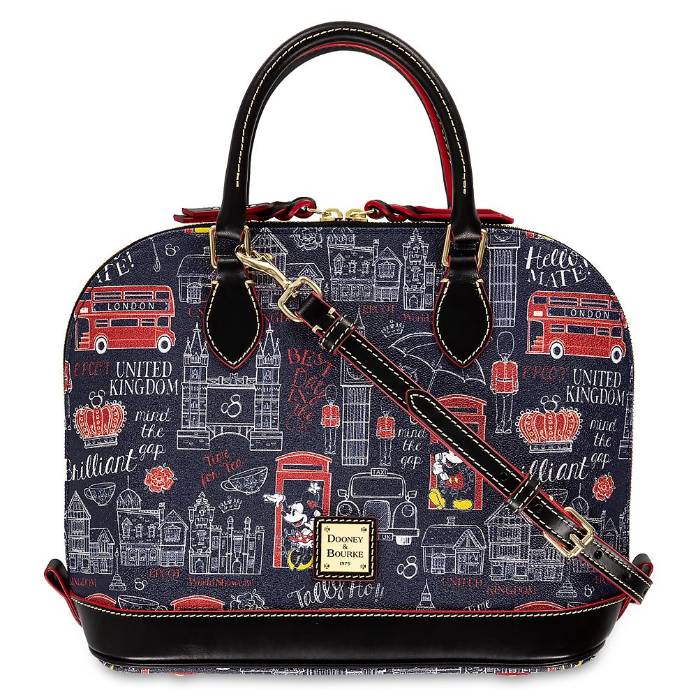 shopdisney.com - Mickey and Minnie Mouse Hello Mate Zip Satchel by Dooney & Bourke Official shopDisney 268.00 USD