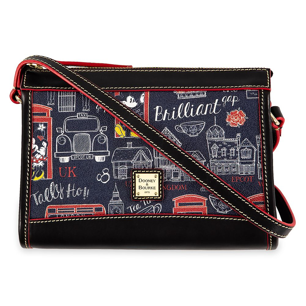 shopdisney.com - Mickey and Minnie Mouse Hello Mate Crossbody Purse by Dooney & Bourke Official shopDisney 198.00 USD