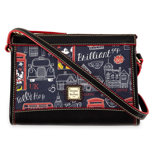 Mickey and Minnie Mouse Hello Mate Crossbody Purse by Dooney & Bourke