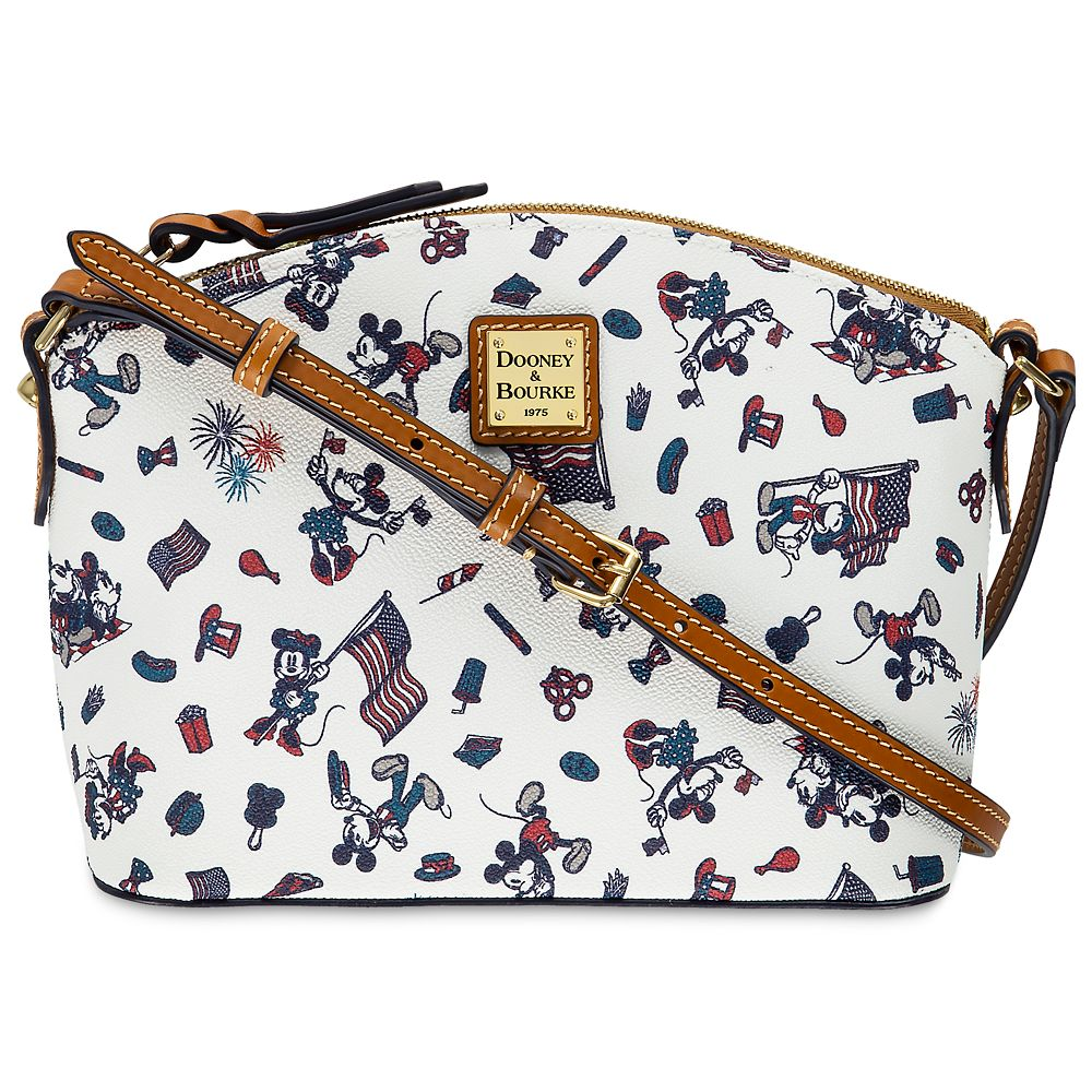 Mickey and Minnie Mouse Americana Crossbody Bag by Dooney & Bourke
