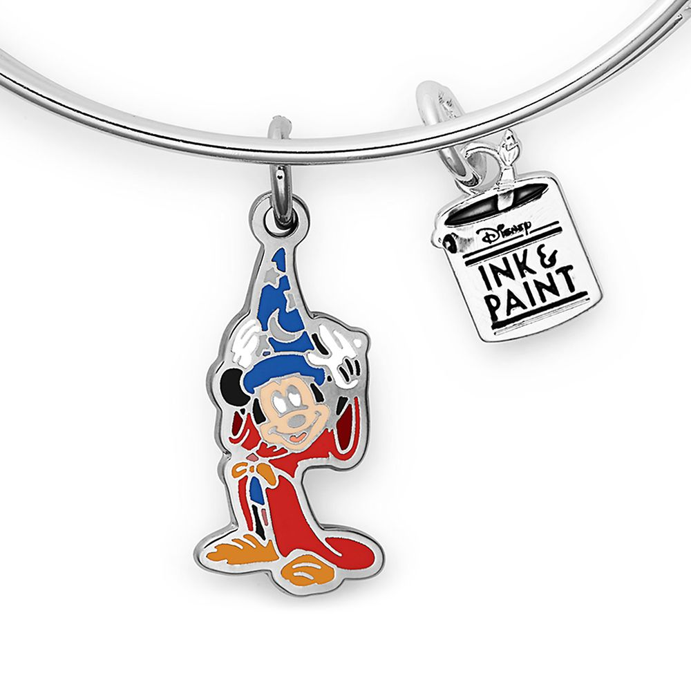 Sorcerer Mickey Mouse Disney Ink & Paint Bangle by Alex and Ani