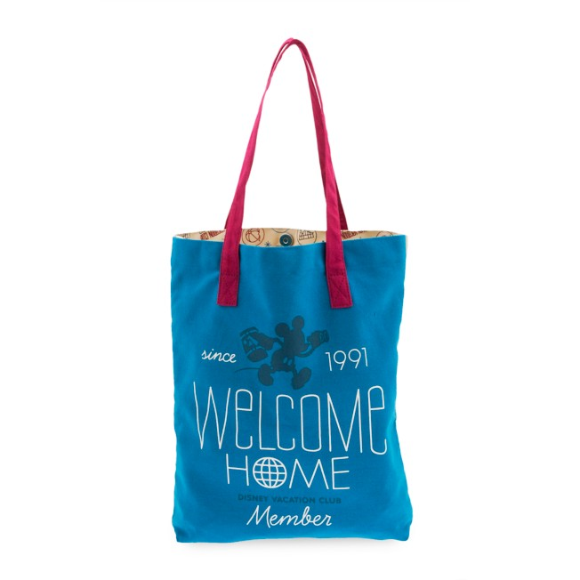 Mickey Mouse Disney Vacation Club Tote Bag