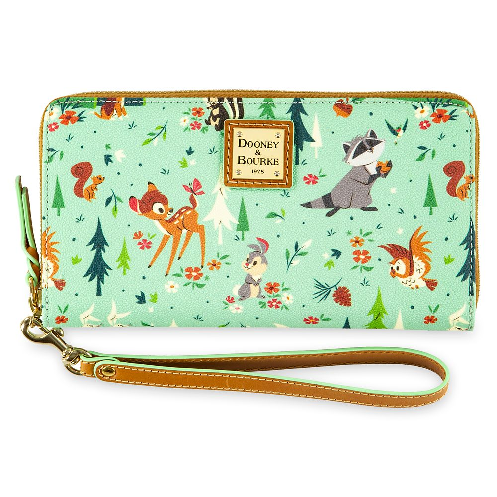 Bambi and Friends Wristlet by Dooney & Bourke