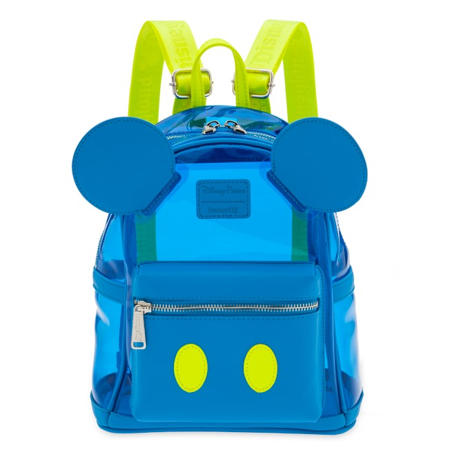 Mickey Mouse Neon Mini Backpack by Loungefly – Disneyland