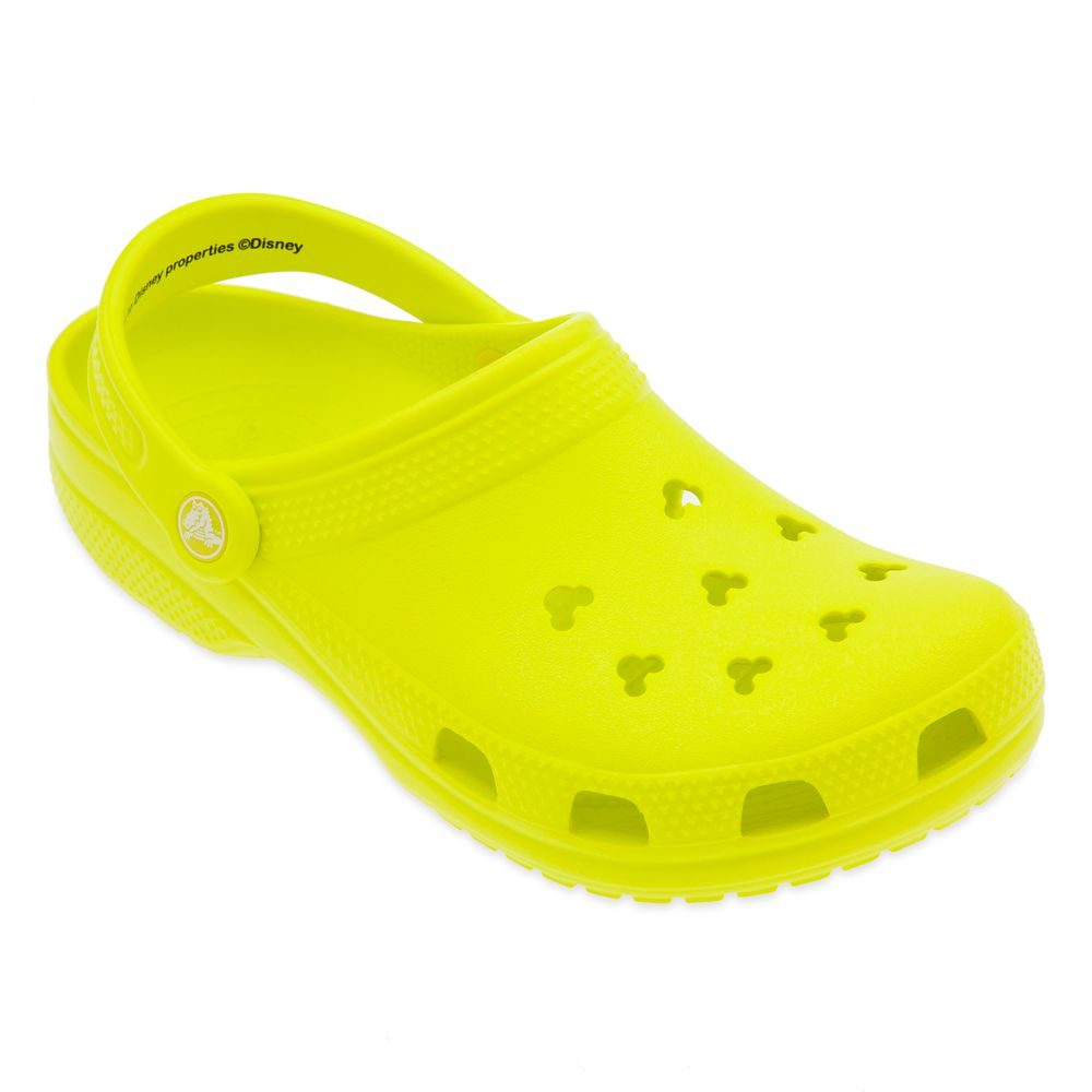 Neon Yellow Clogs for Adults by Crocs