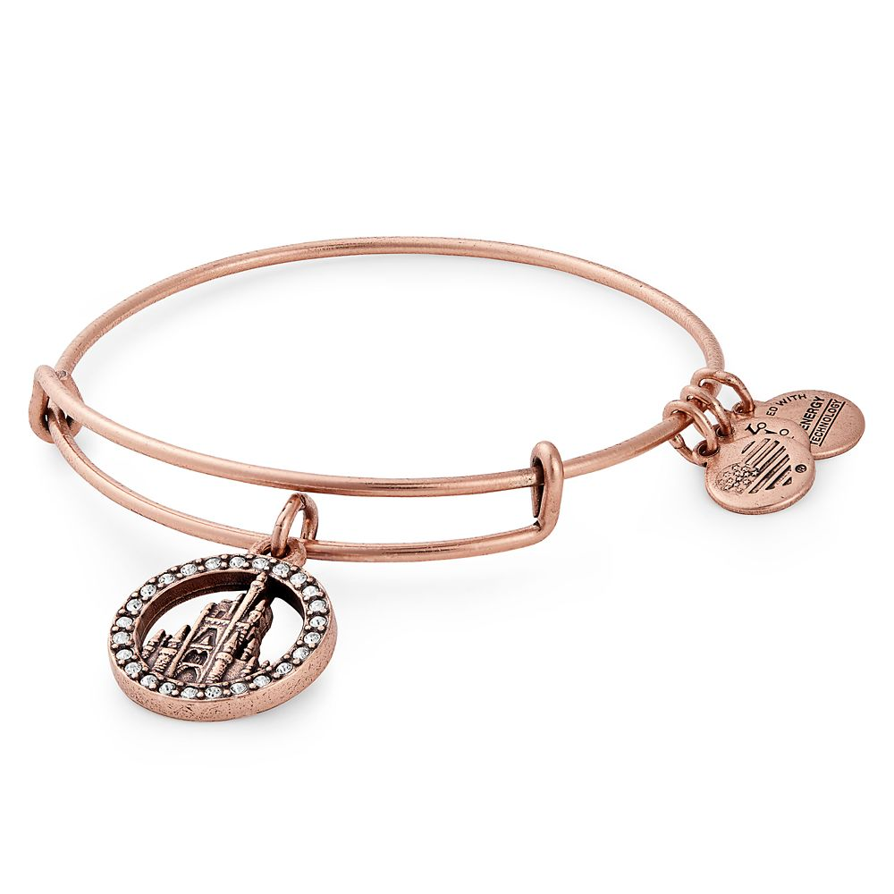 Fantasyland Castle Bangle by Alex and Ani – Rose Gold