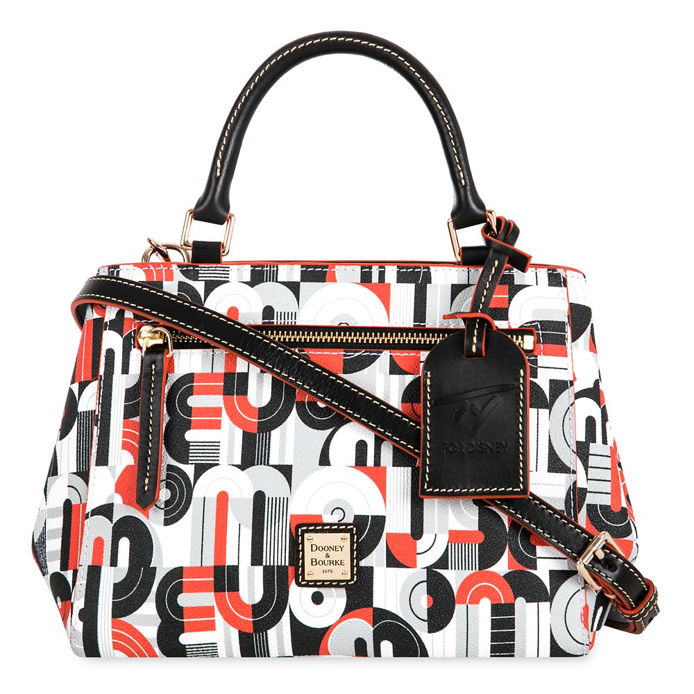 Mickey and Minnie Mouse Geometric Satchel by Dooney & Bourke