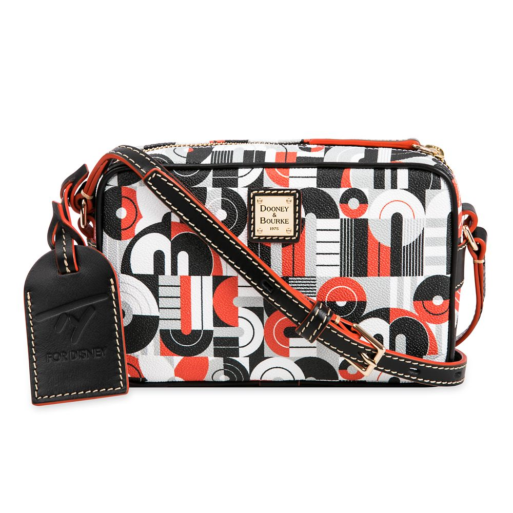 shopdisney.com - Mickey and Minnie Mouse Geometric Crossbody Bag by Dooney & Bourke Official shopDisney 158.00 USD