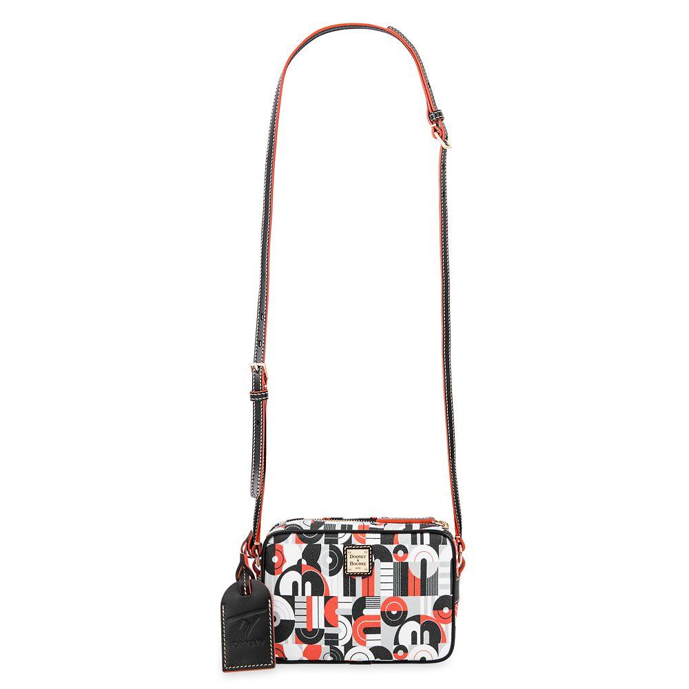 Mickey and Minnie Mouse Geometric Crossbody Bag by Dooney & Bourke