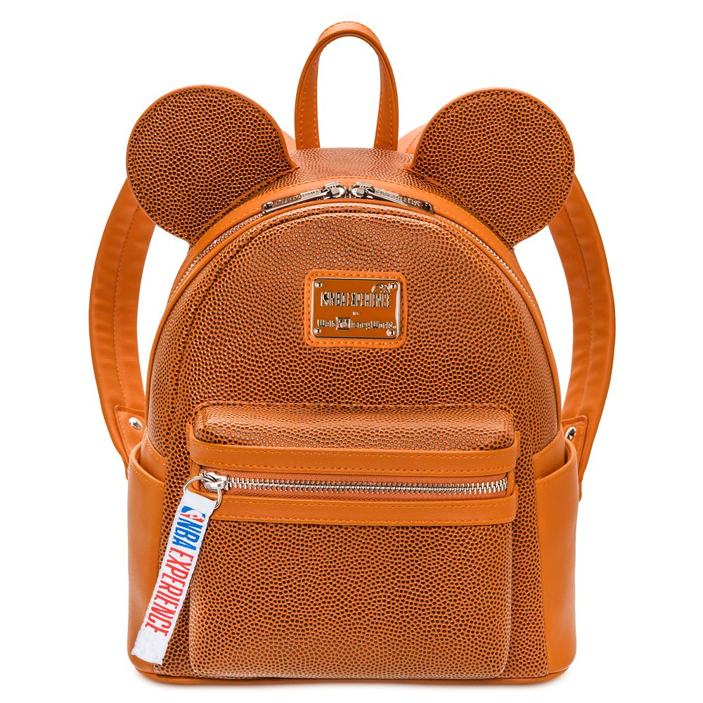 Mickey Mouse NBA Experience Mini Backpack by Loungefly