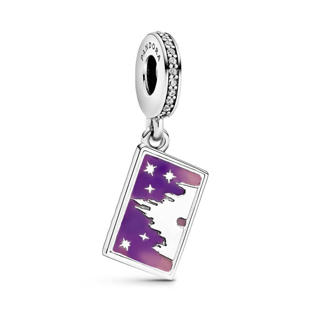 Fantasyland Castle Postcard Dangle Charm by Pandora Jewelry