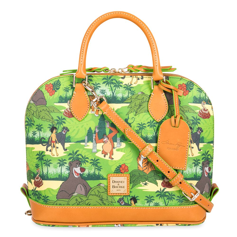 The Jungle Book Zip Satchel by Dooney & Bourke