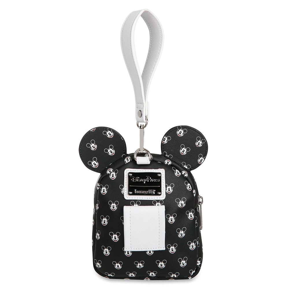 Mickey Mouse Faces Backpack Wristlet by Loungefly