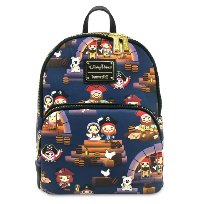 Pirates of the Caribbean Mini Backpack by Loungefly