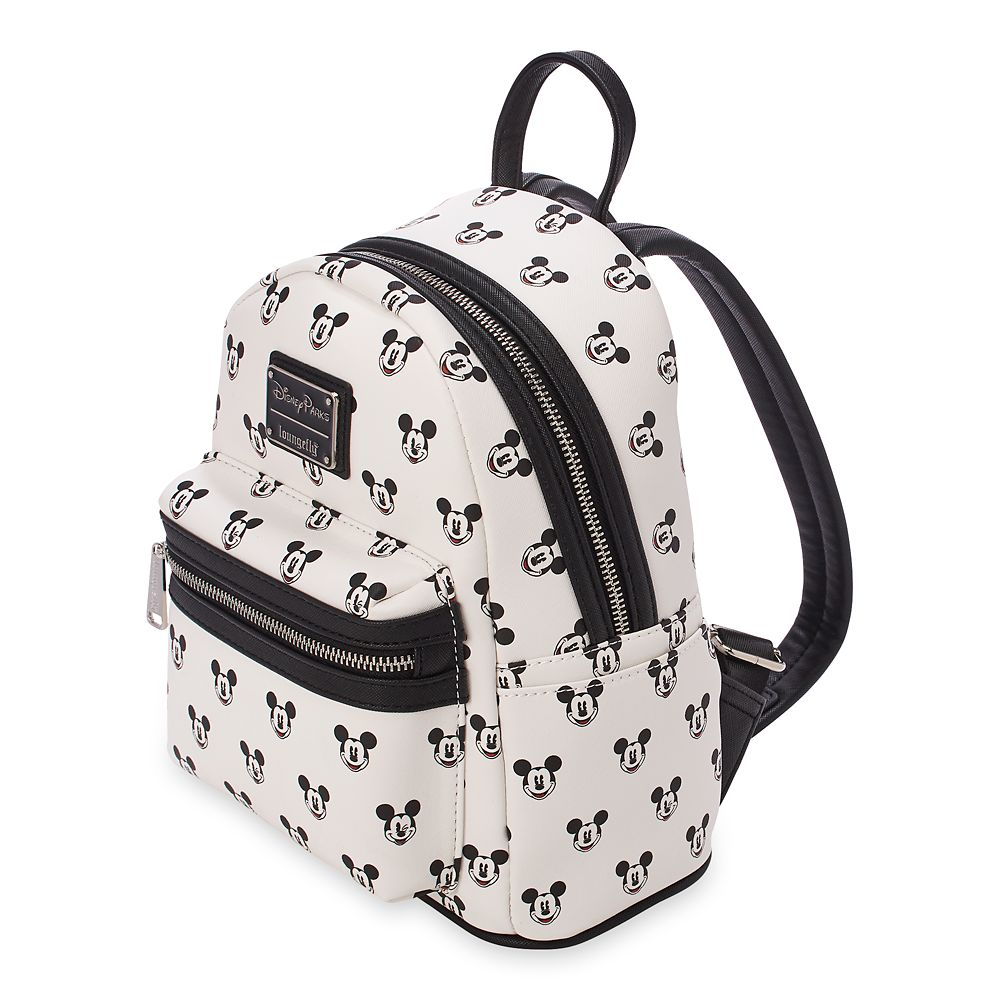 Mickey Mouse Faces Mini Backpack by Loungefly
