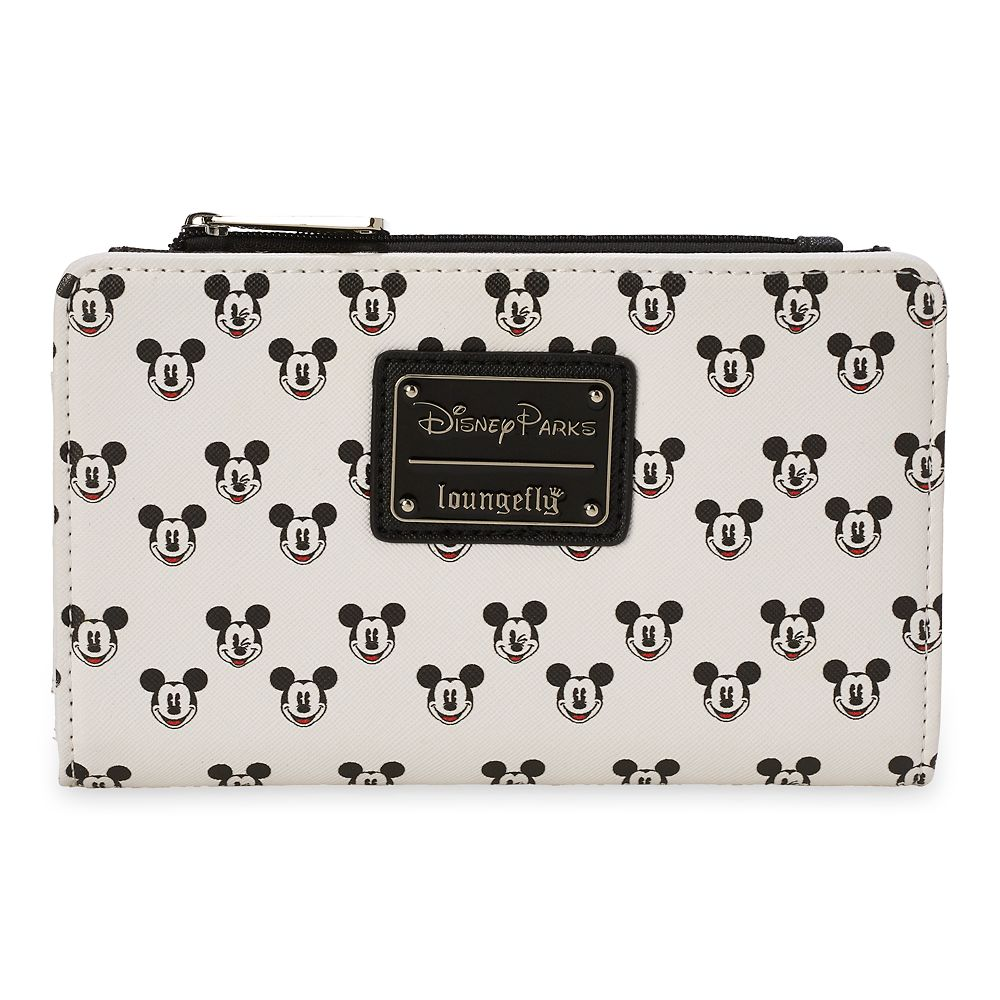Mickey Mouse Faces Wallet by Loungefly