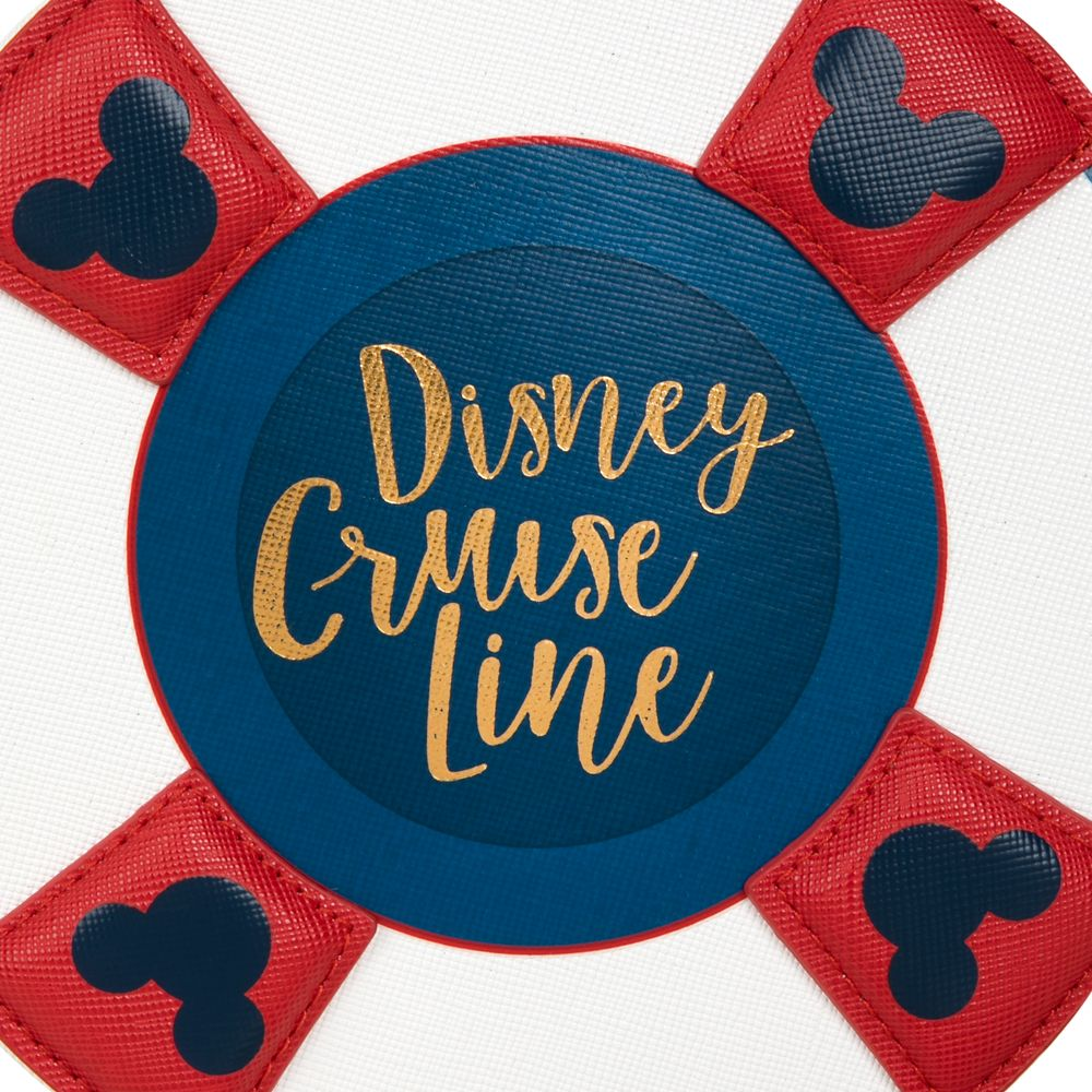 Disney Cruise Line Life Preserver Crossbody Bag