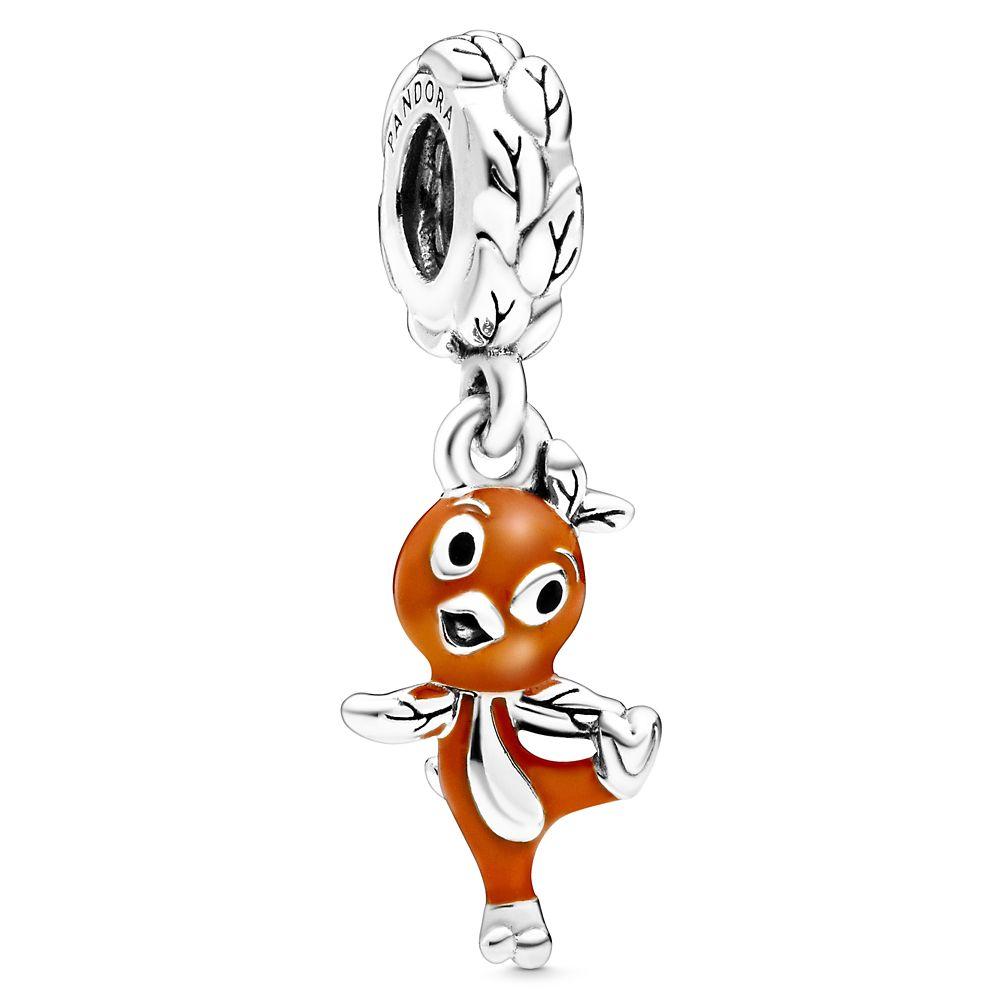 Orange Bird Charm by Pandora Jewelry