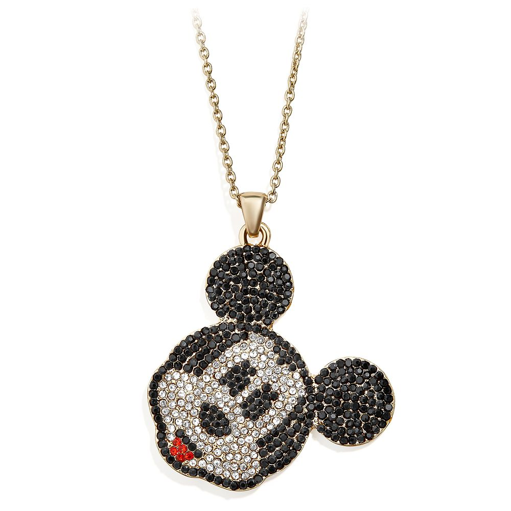 Mickey Mouse Pavé Necklace by BaubleBar