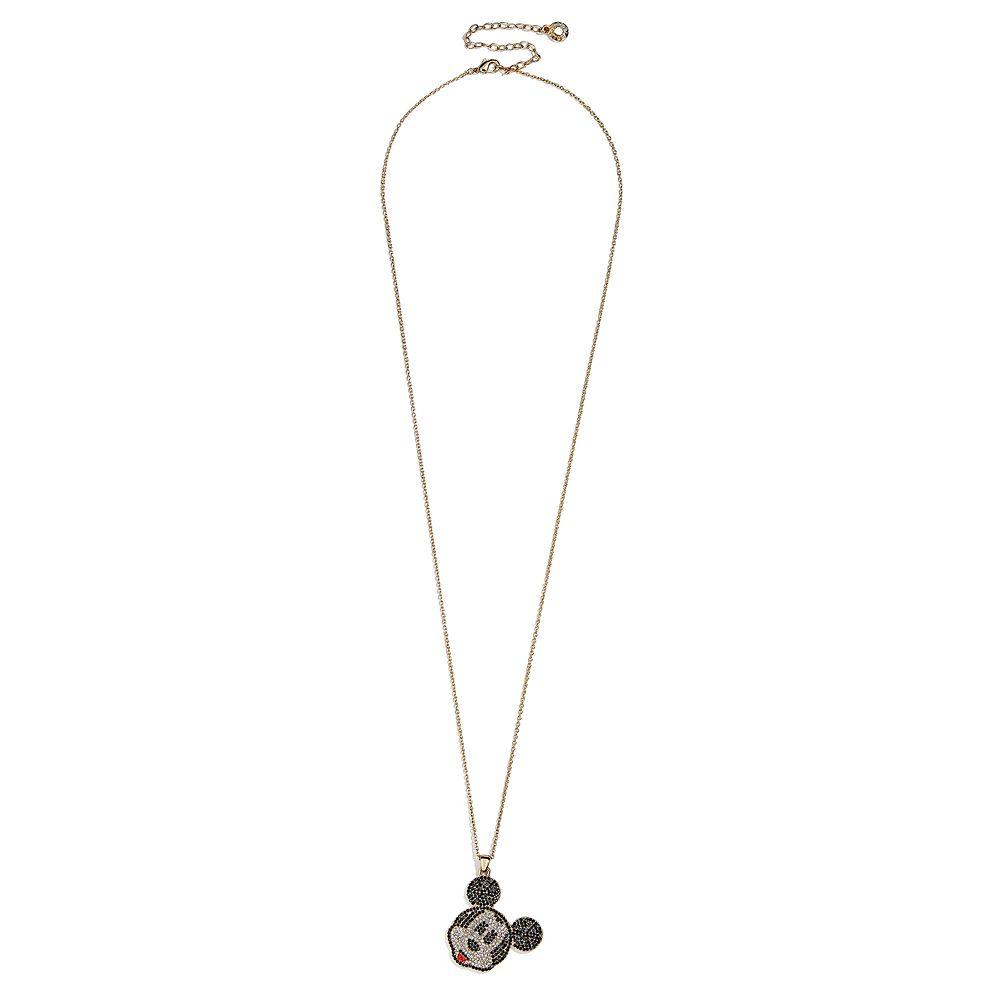Mickey Mouse Pavé Necklace by BaubleBar
