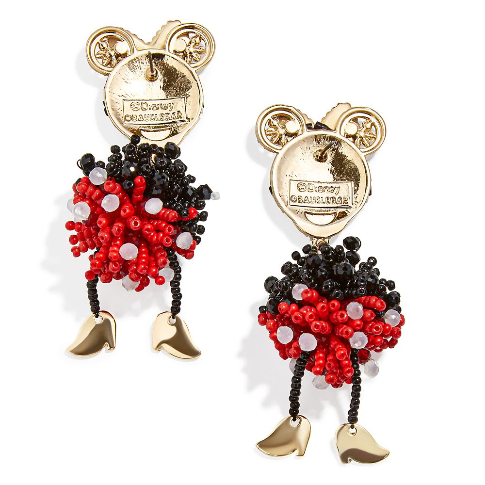 Minnie Mouse Earrings by BaubleBar