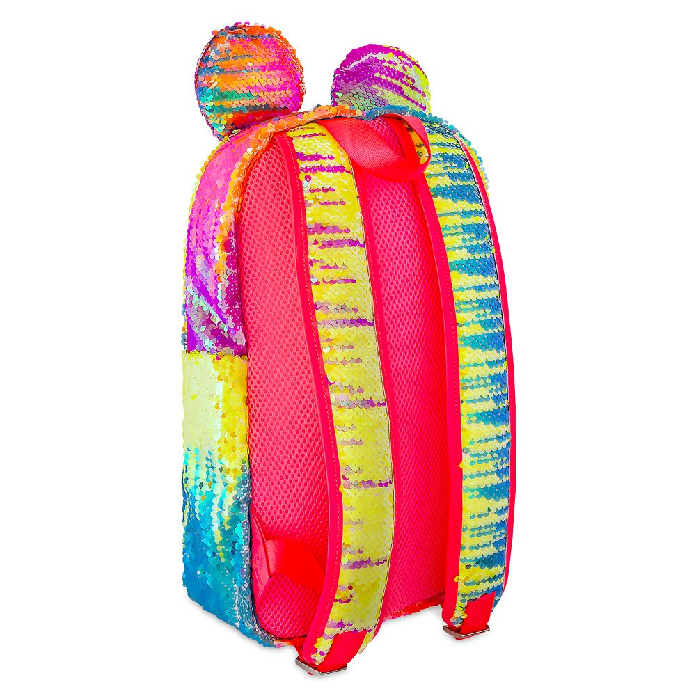 Minnie Mouse Sequined Rainbow Backpack