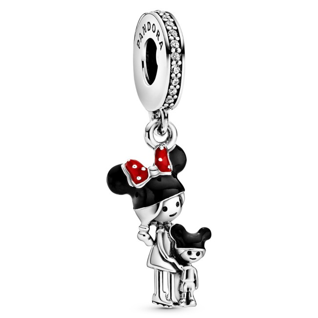 Mouseketeer Mom and Child Charm by Pandora Jewelry – Disney Parks