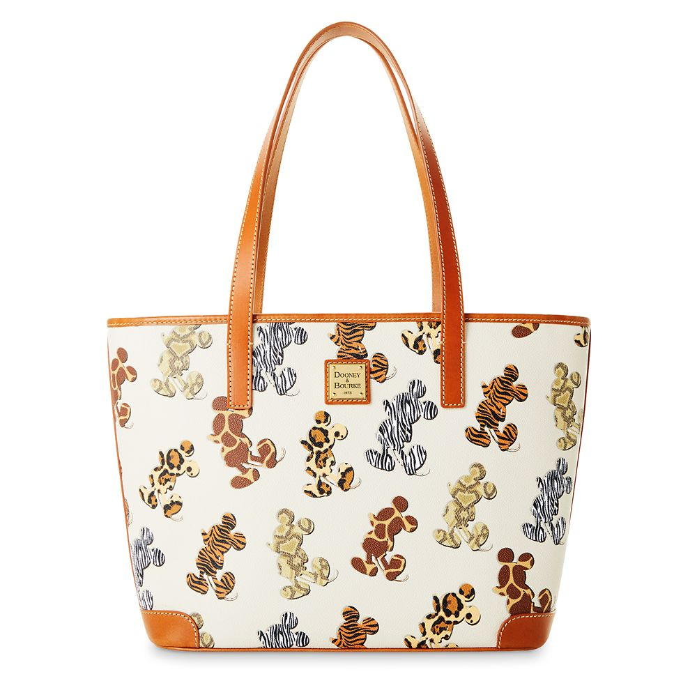 Mickey Mouse Animal Print Dooney & Bourke Tote Bag