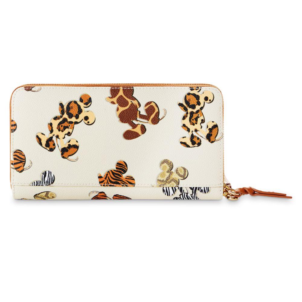 Mickey Mouse Animal Print Dooney & Bourke Wallet