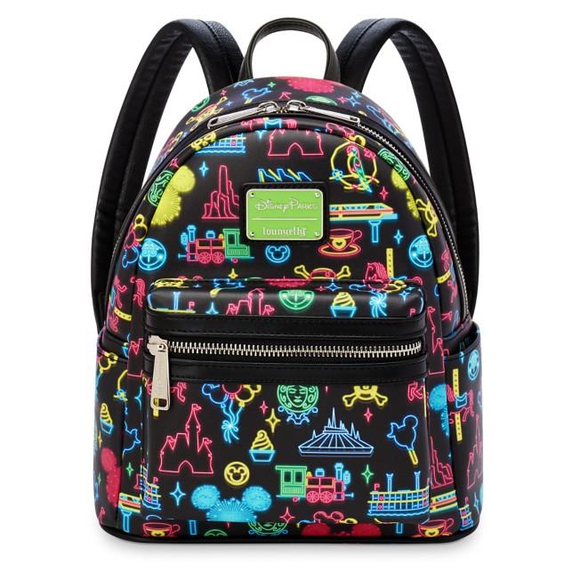 Disney Park Glow Loungefly Mini Backpack
