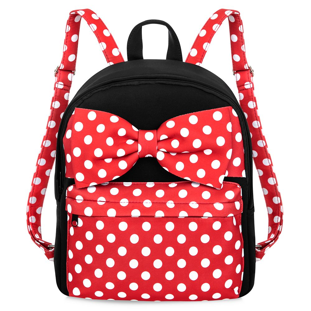 Minnie Mouse Polka Dot Backpack